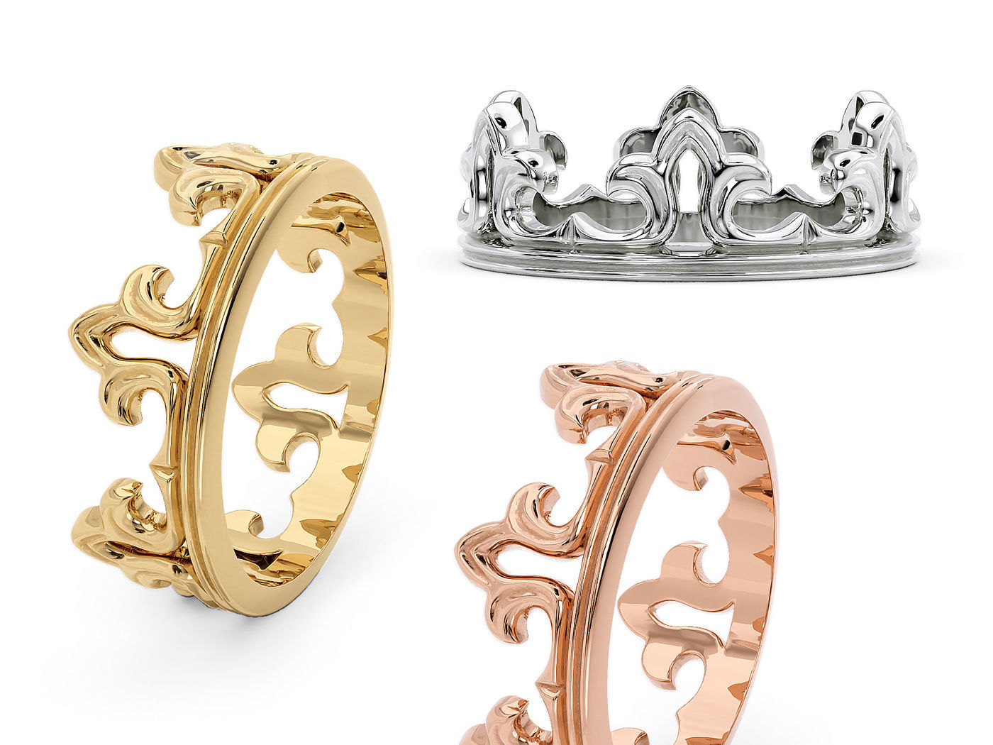 R 0205 Ring band crown