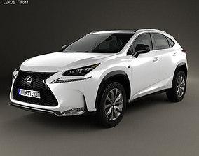 Lexus NX F Sport 2014 3D model