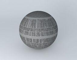 3D model Star Wars,Death Star