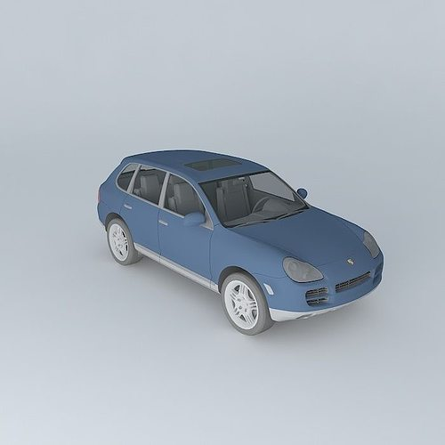 Porsche Cayenne 3d Cgtrader