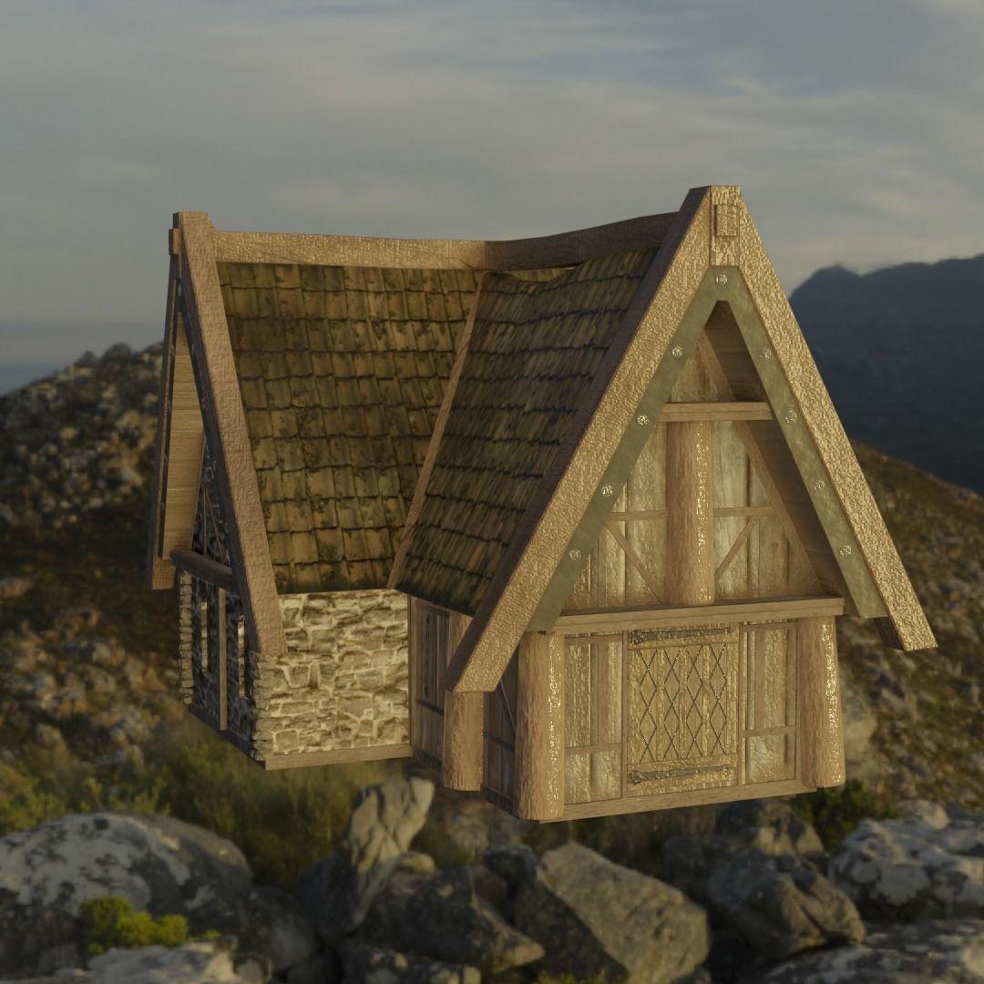 Breezehome Skyrim 3D Asset