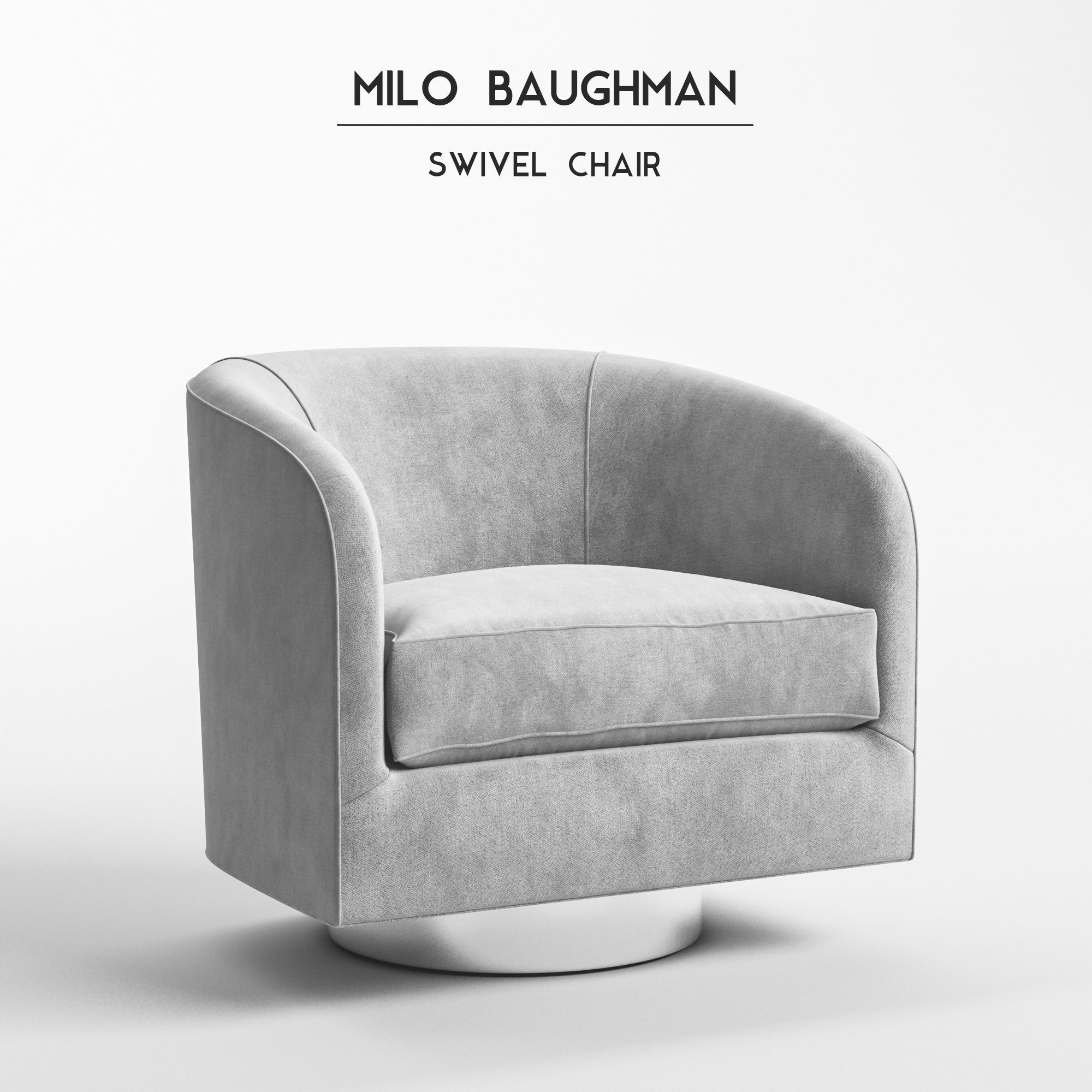 Milo Baughman - Swivel Chair model