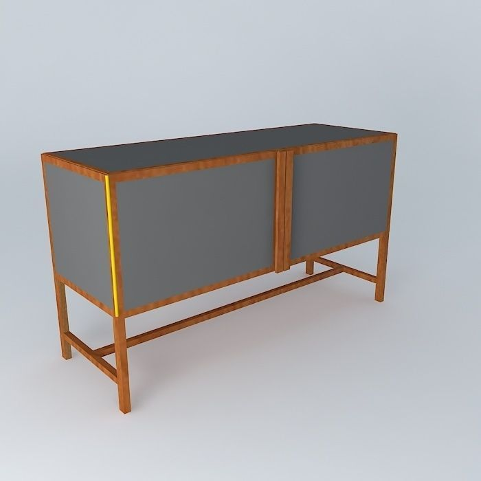 Container sideboard 3d model max obj 3ds fbx stl dae for Sideboard 3d