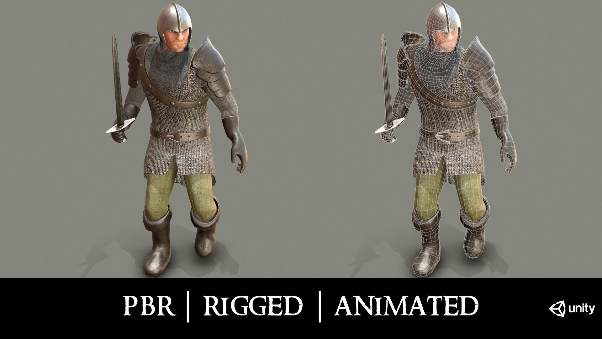 Medieval Knight in Chainmail