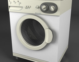 3D model Washermachine