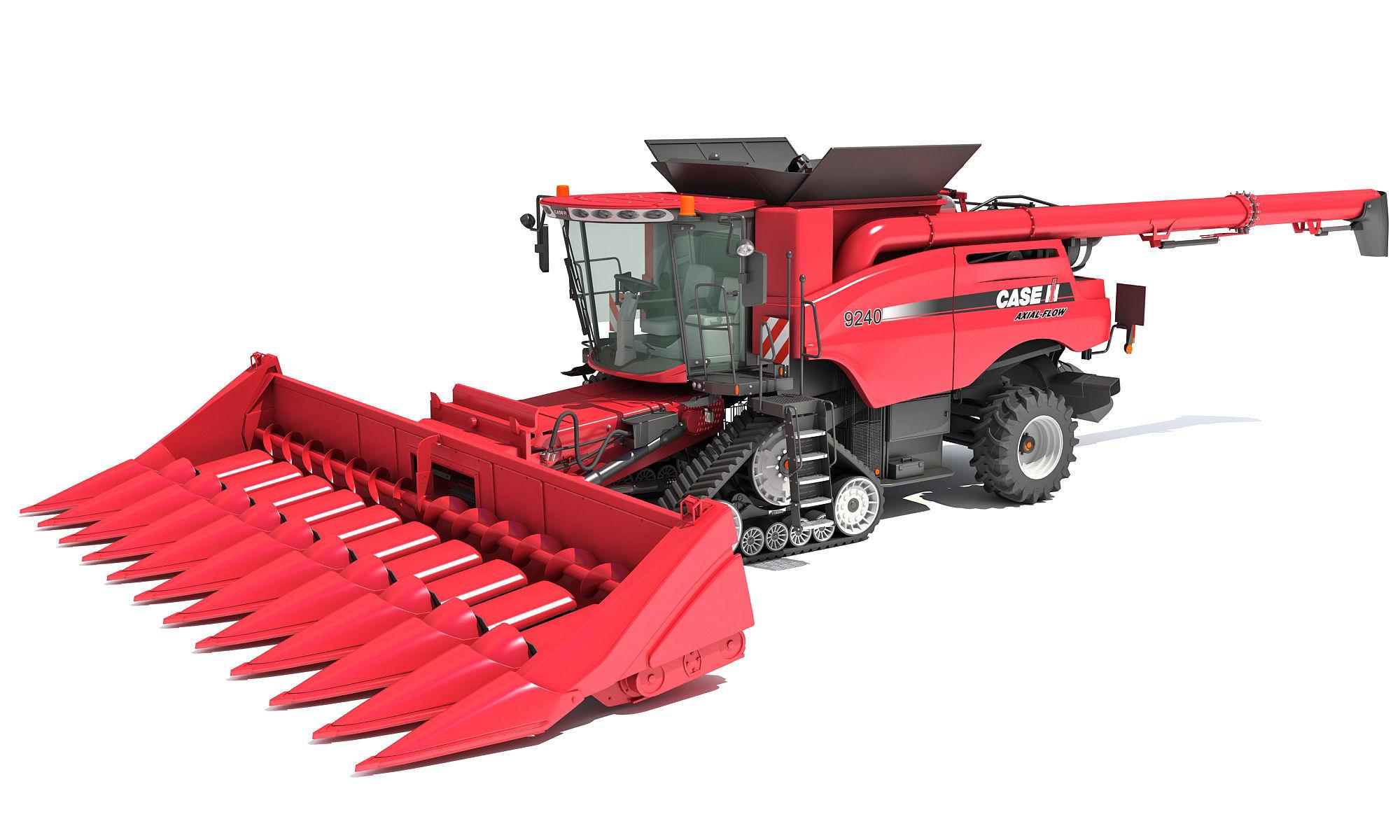Case Corn Combine Harvester