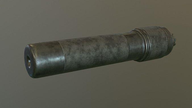 Ak rifle silencer