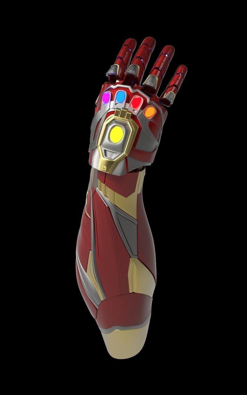 Stark Tech Infinity Gauntlet