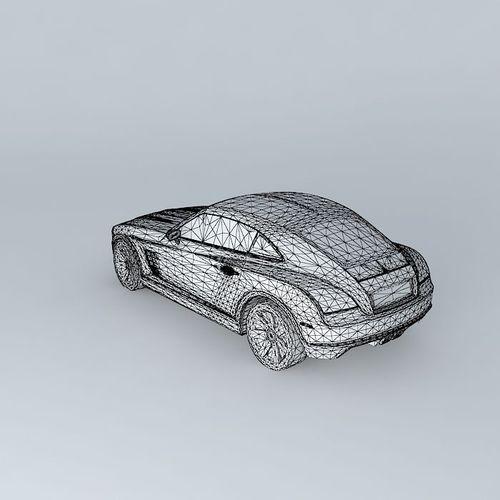 2005 Chrysler Crossfire Free 3D Model .max .obj .3ds .fbx