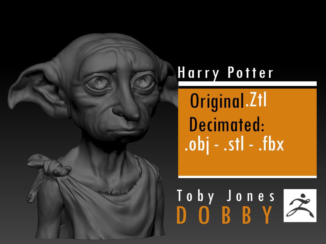 Dobby - Toby Jones - Harry Potter