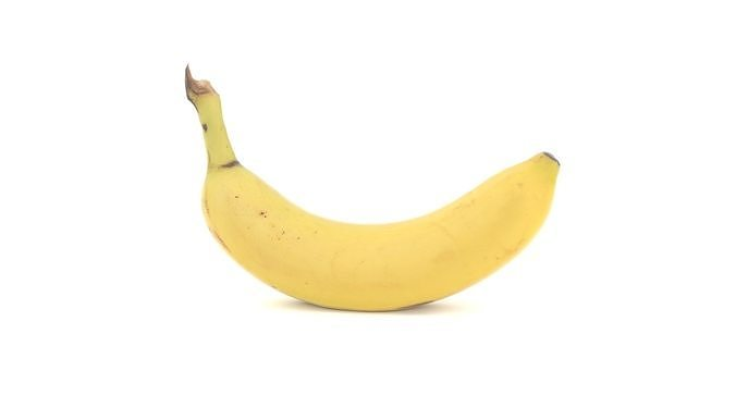 Banana 3D model photoscan