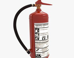 halon Fire Extinguisher 3D