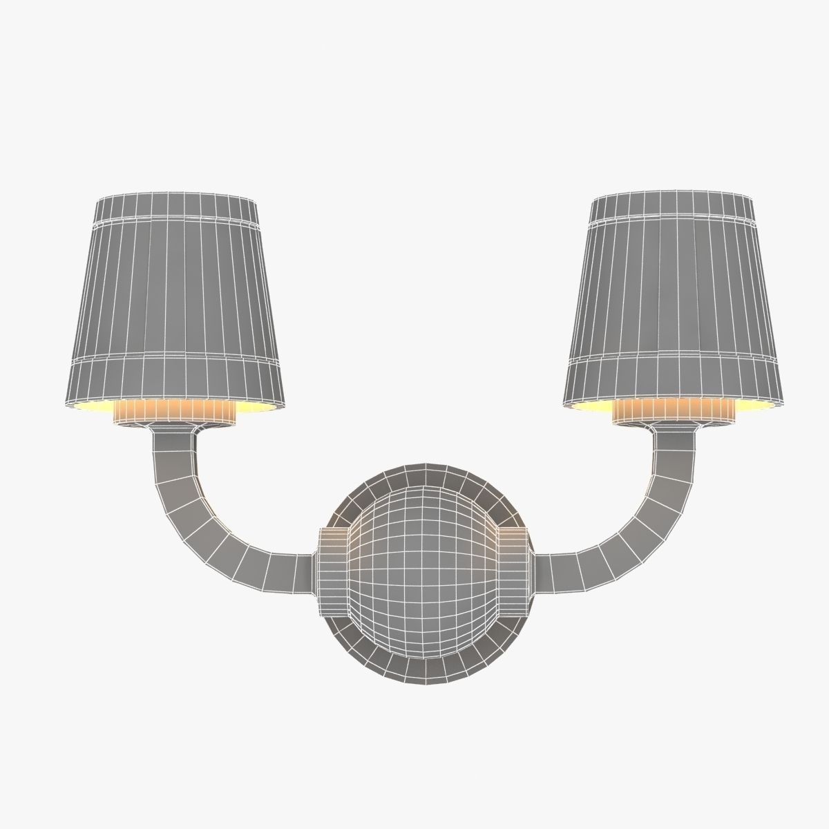 Paper Wall Lamp Studio Job Moooi 3D Model MAX OBJ 3DS FBX