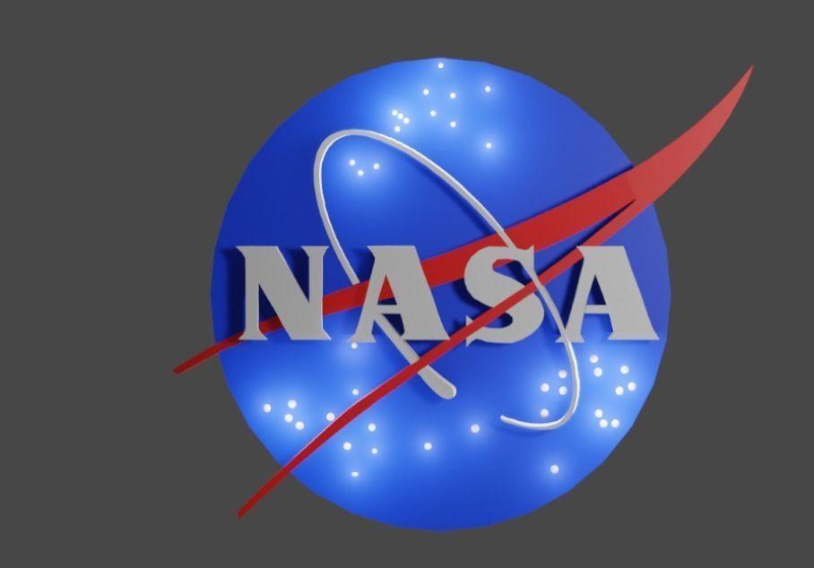 3d Logo of NASA