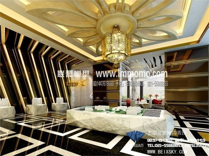 Luxury Kitchen Design 3D Models photo - 2