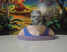 3d print model atomic skull 2