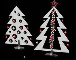 3d metal christmas tree