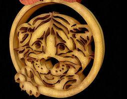 3D Carve tiger
