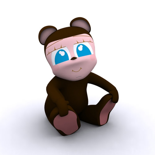 Bear Kid3D model