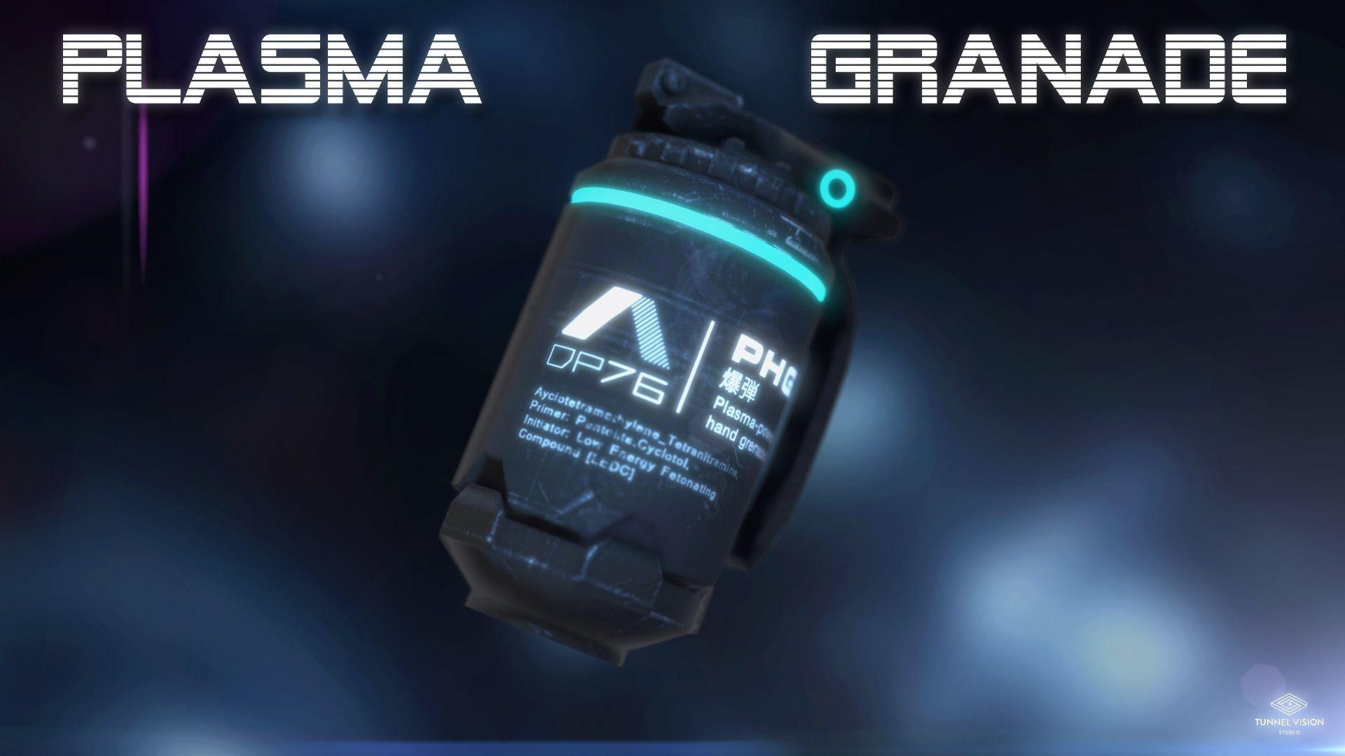 Plasma-Powered Hand Grenade