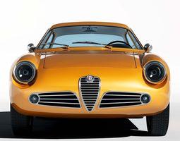 3d model 1960 alfa romeo giulietta sz