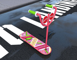 hoverboard 3d