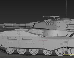 m61a5 military tank 3D Model