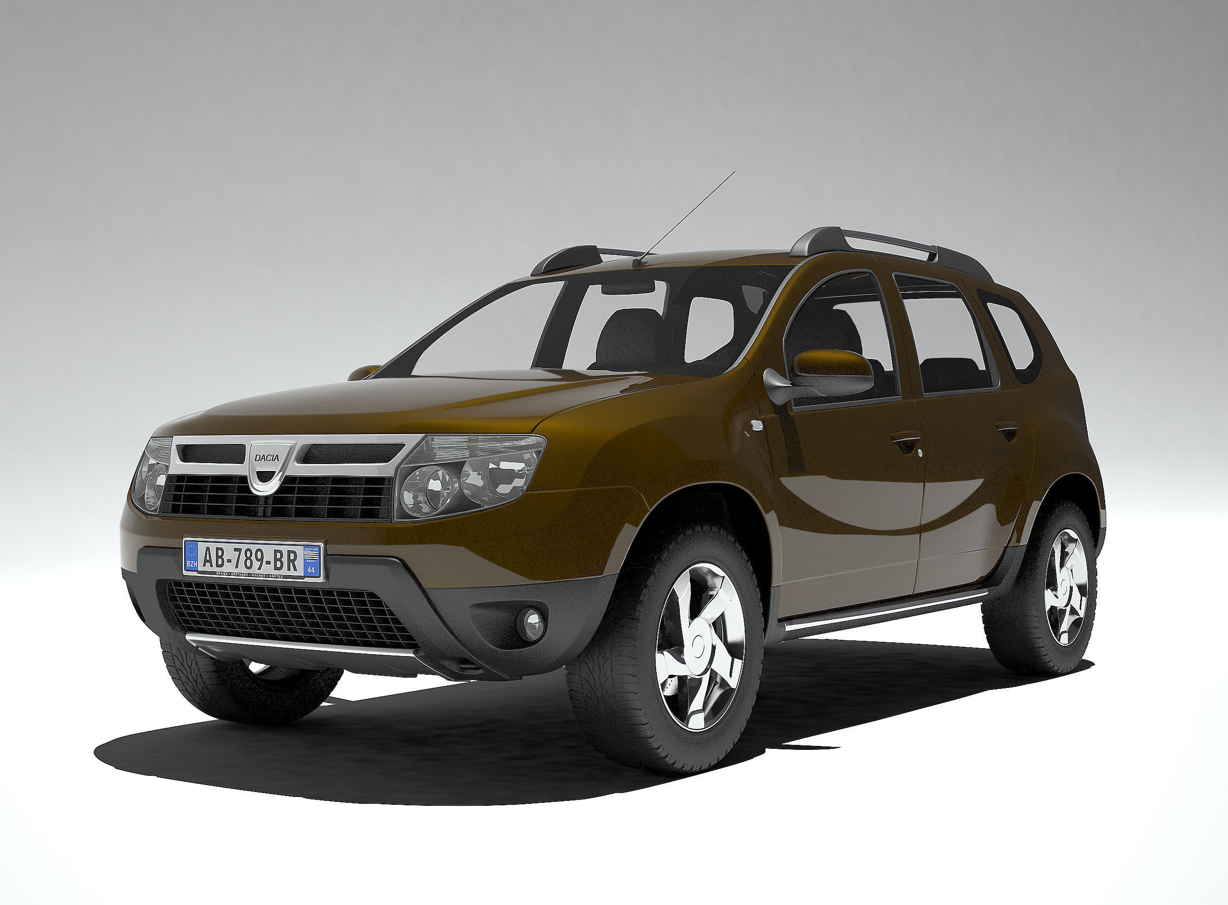 duster dacia renault 3d model max obj fbx wrl wrz mtl. Black Bedroom Furniture Sets. Home Design Ideas