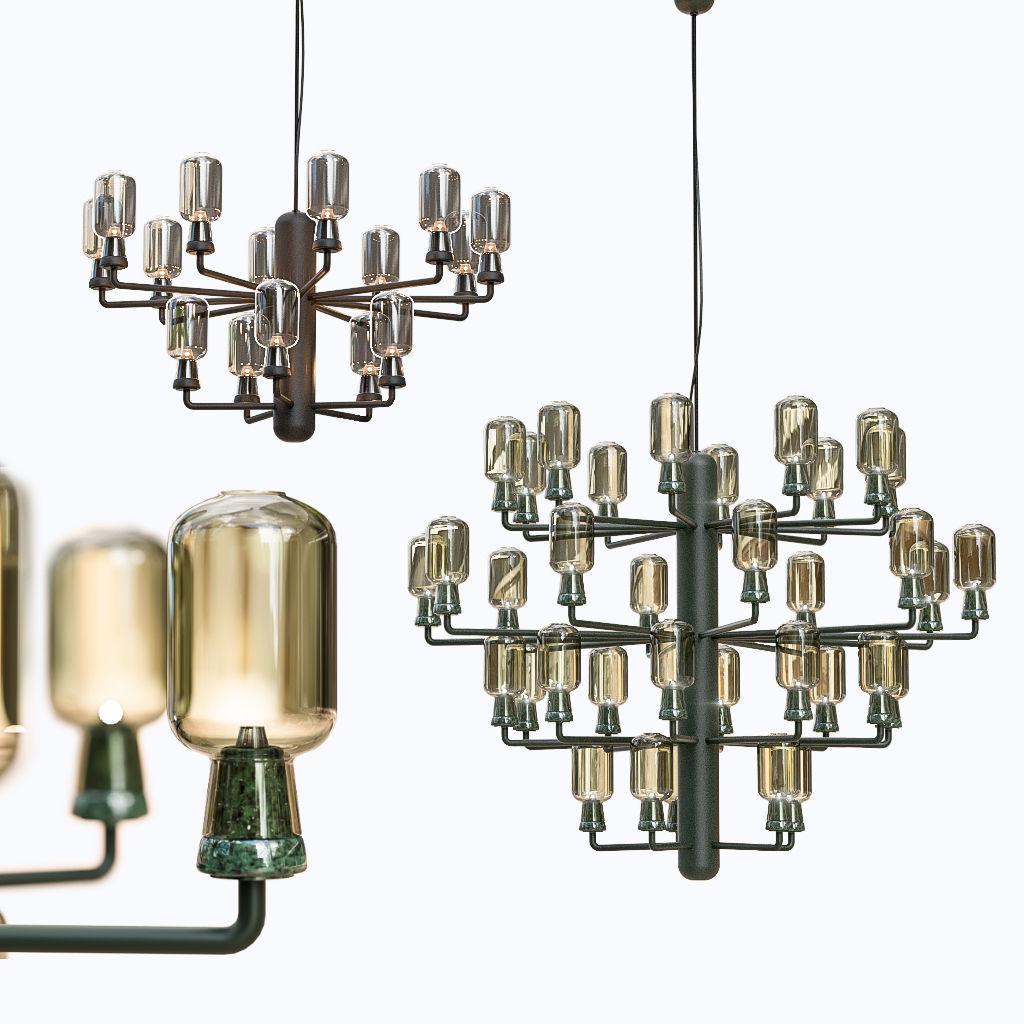 Normann Copenhagen Amp chandelier
