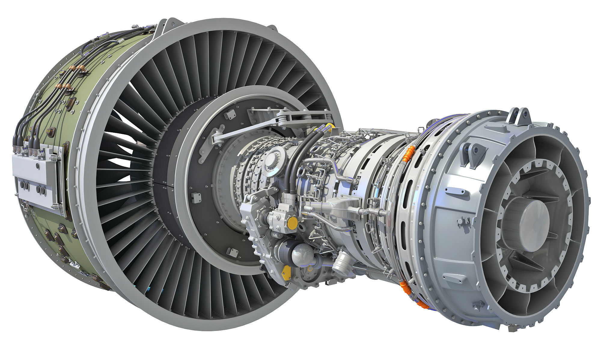 PW GTF Geared Turbofan Engine