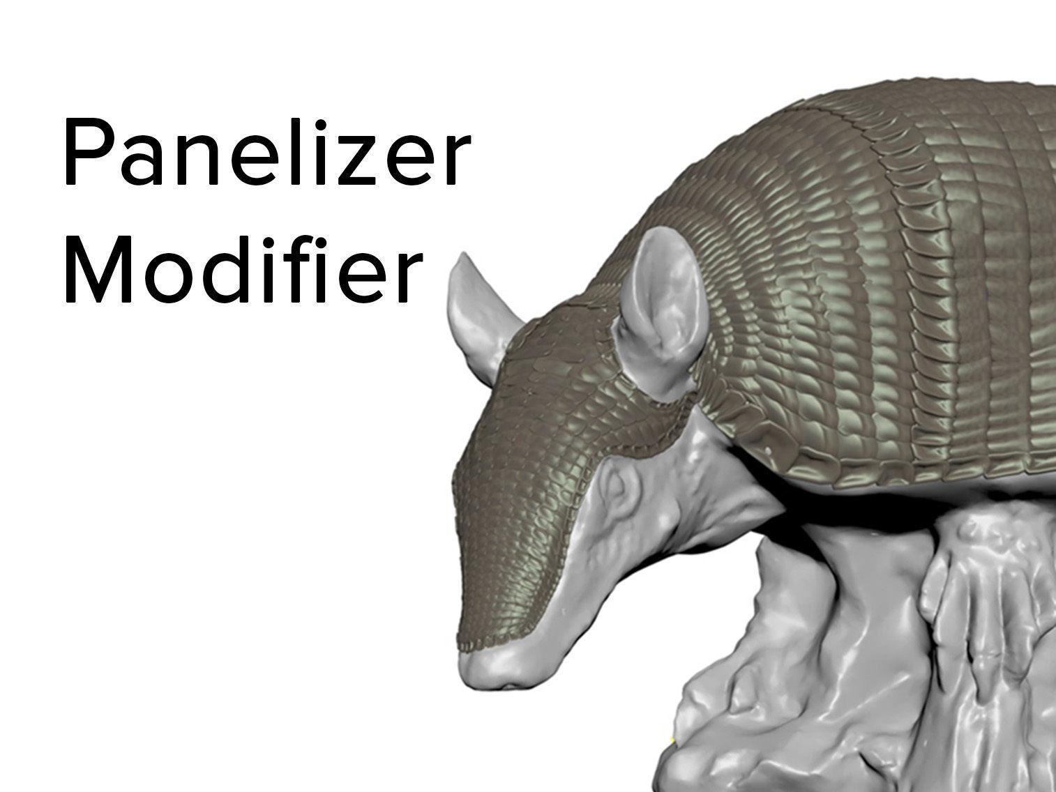 Panelizer Modifier 3dsMax