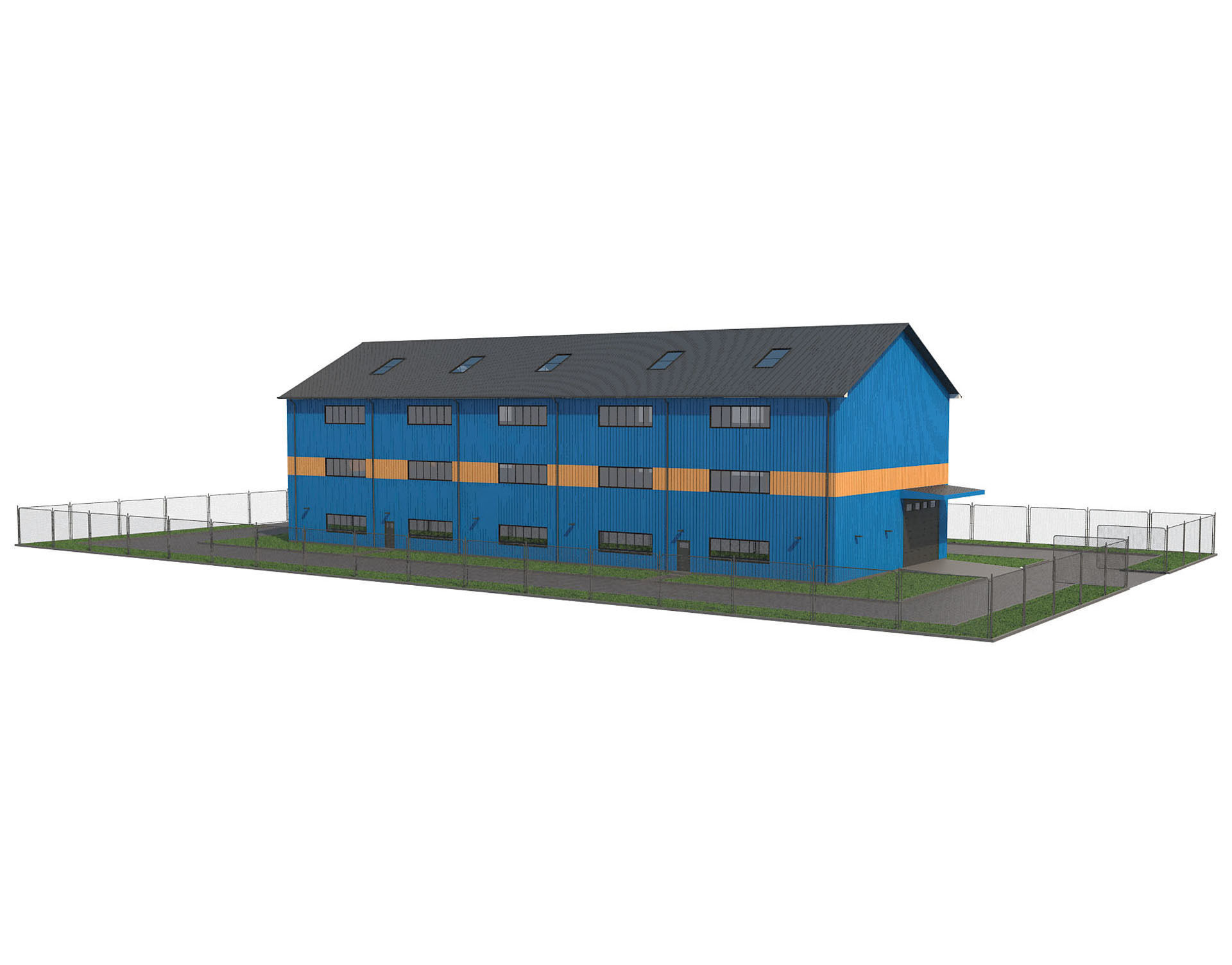 Warehouse With Interior 1