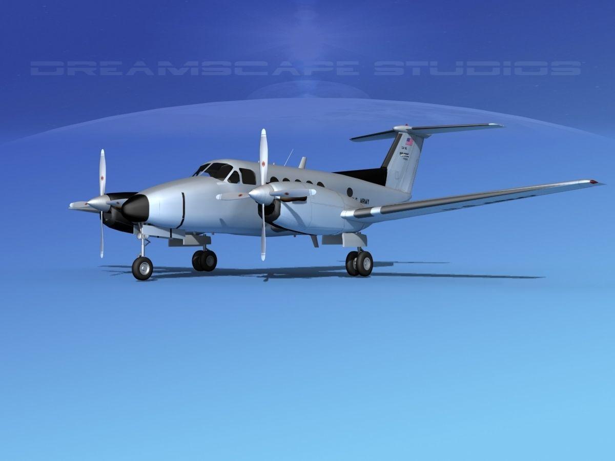 Beechcraft UC-12Q Huron V10 US Army