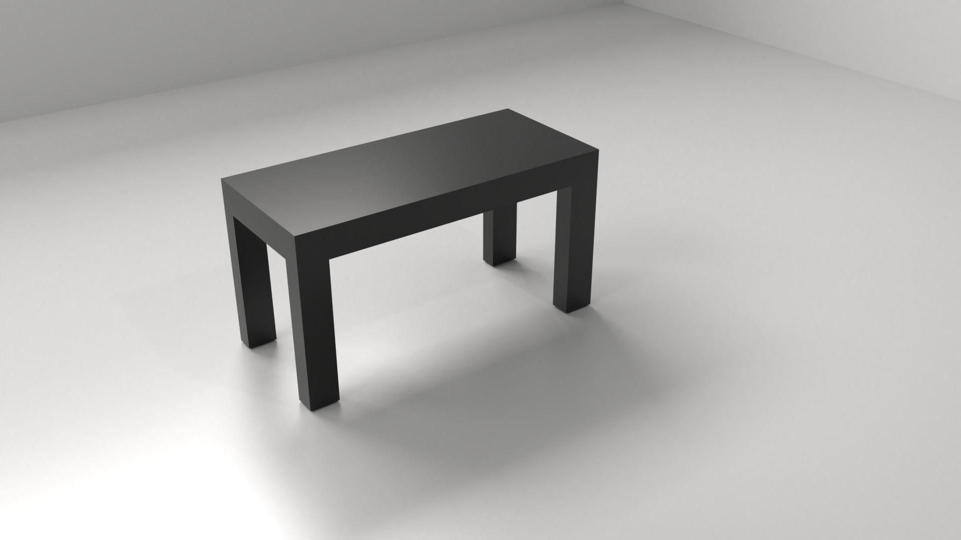 Rectangle Desk 4