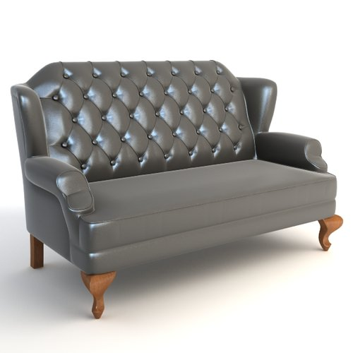Wingback Sofa3D model