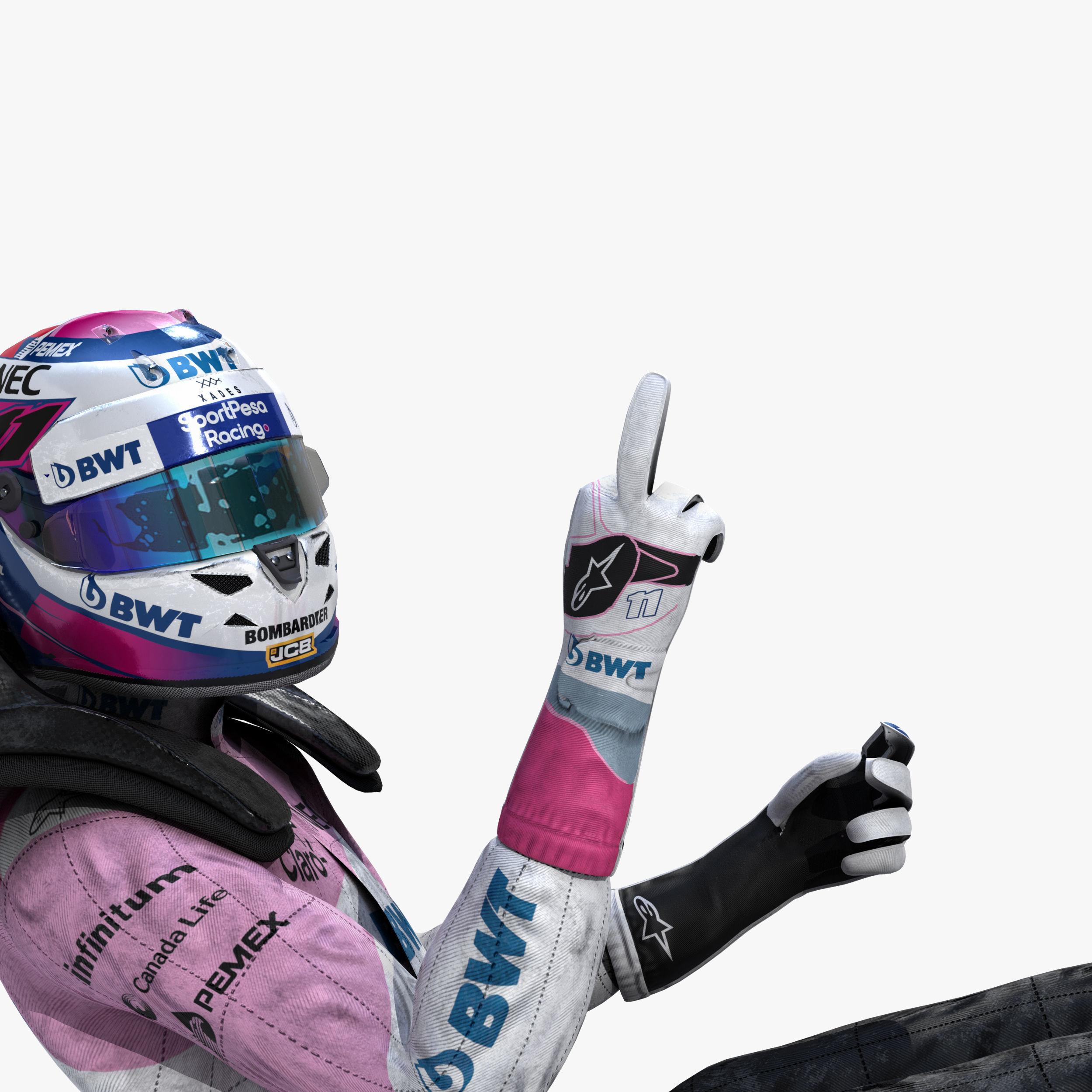Sergio Perez 2019