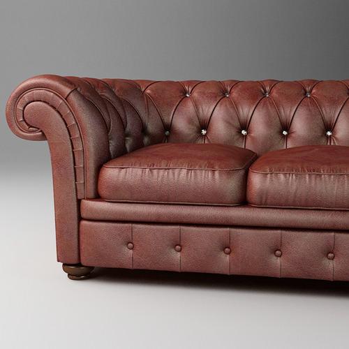 Leather Sofa Relotti Armando