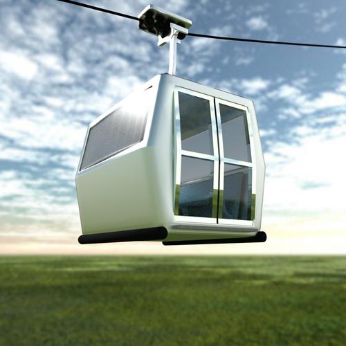 Cable Car3D model