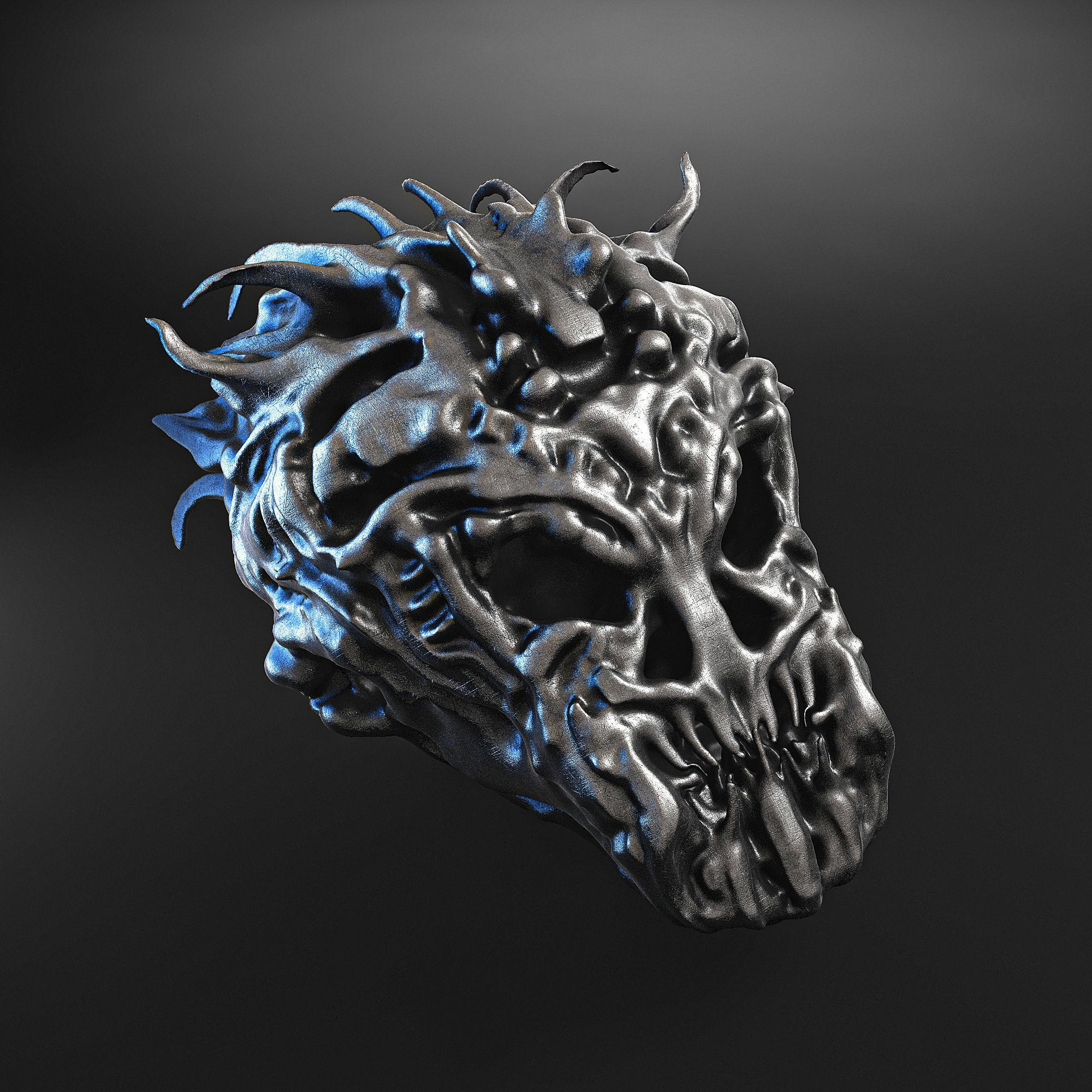 skull beast jewellery