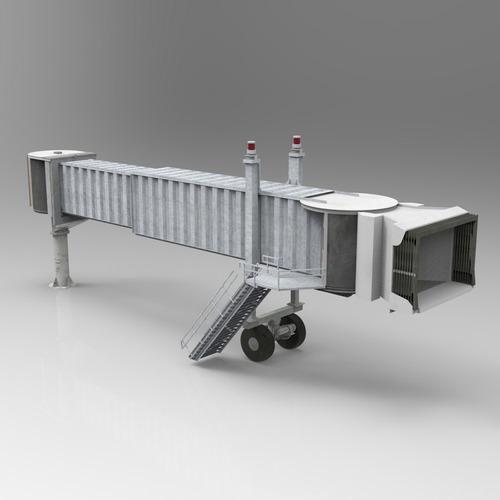 Air Bridge 3D Model OBJ