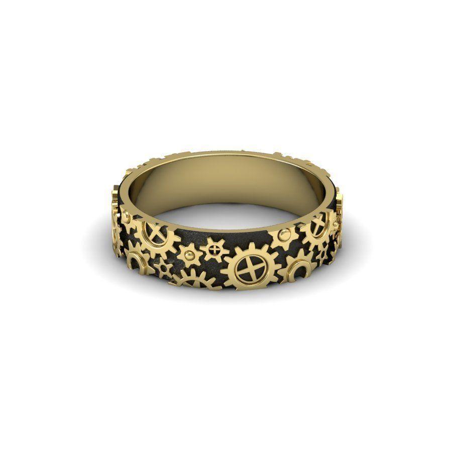 Clockwork ring