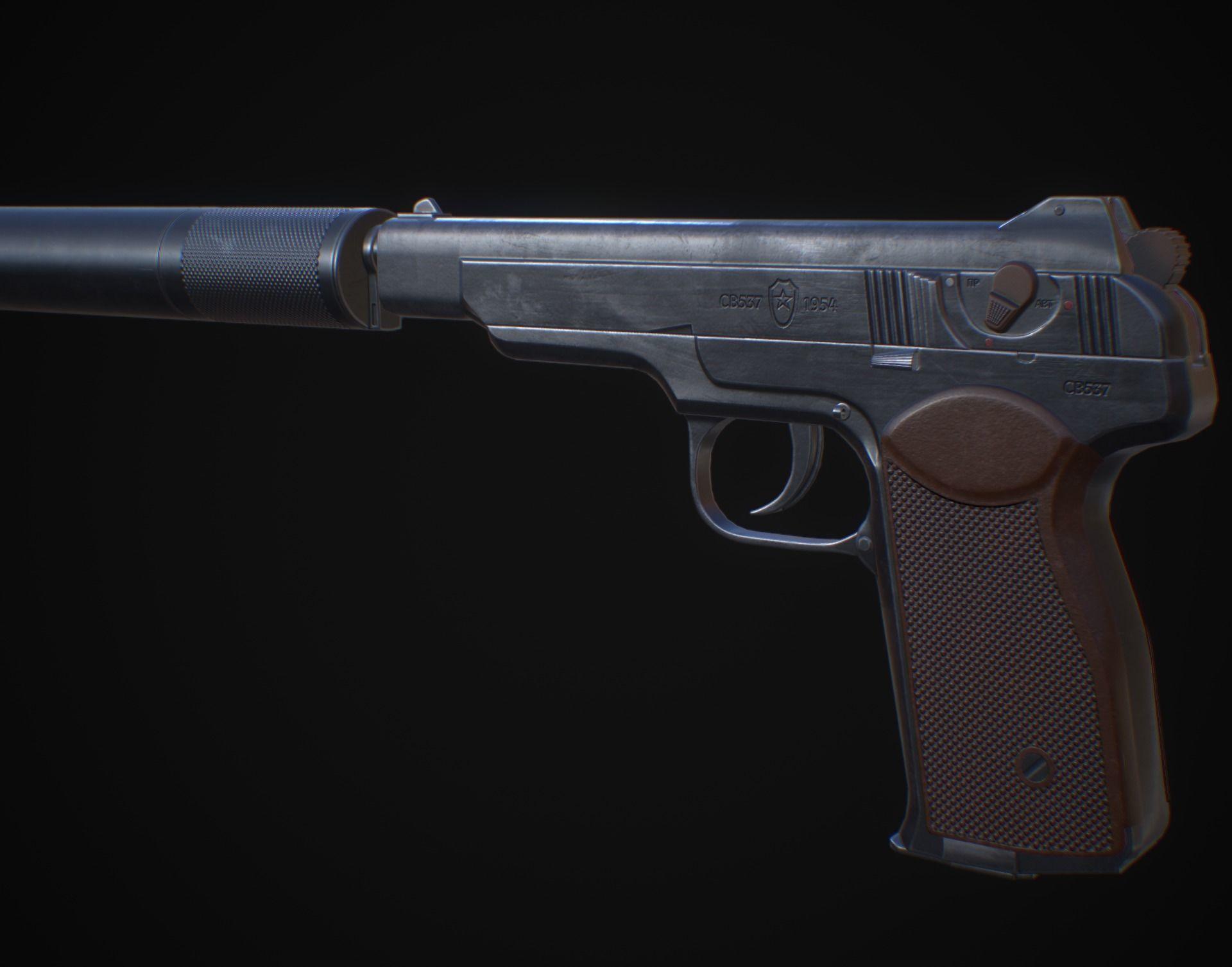 APB - APS Stechkin automatic pistol