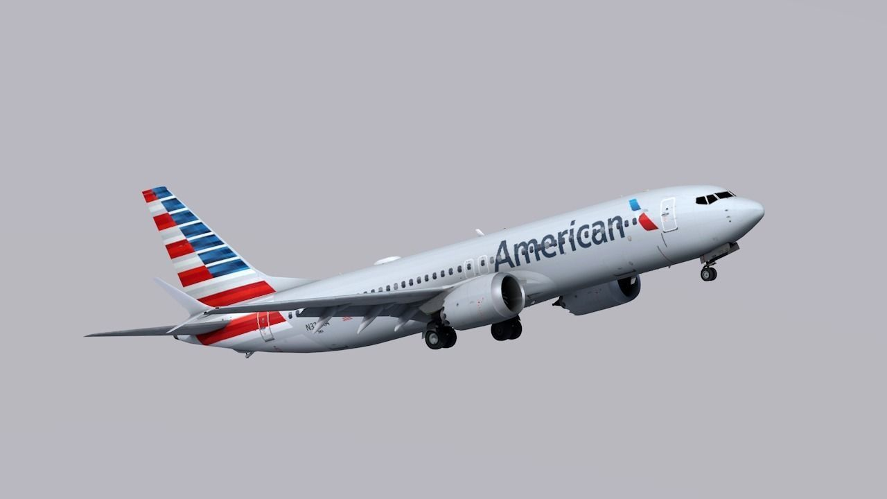 Boeing 737 MAX-8 American Airlines
