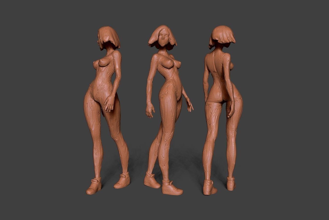 Clay Girl 8
