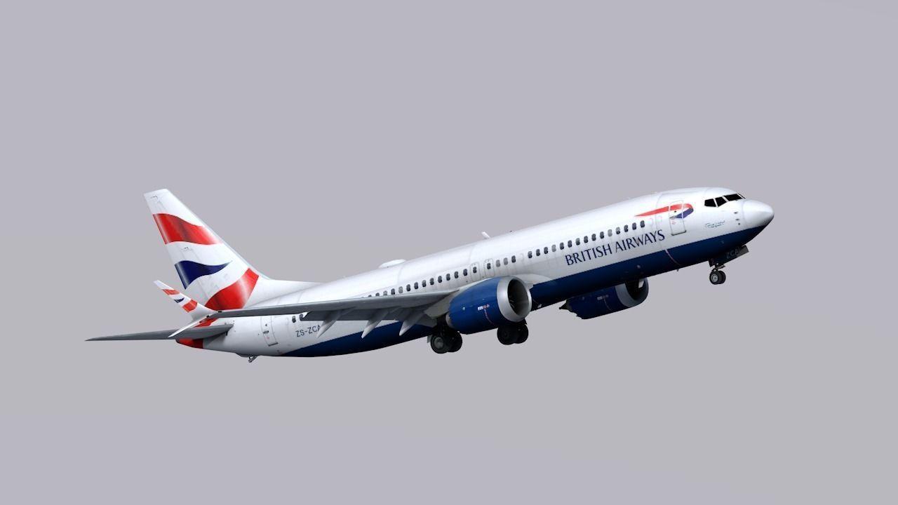 Boeing 737 MAX-8 British Airways