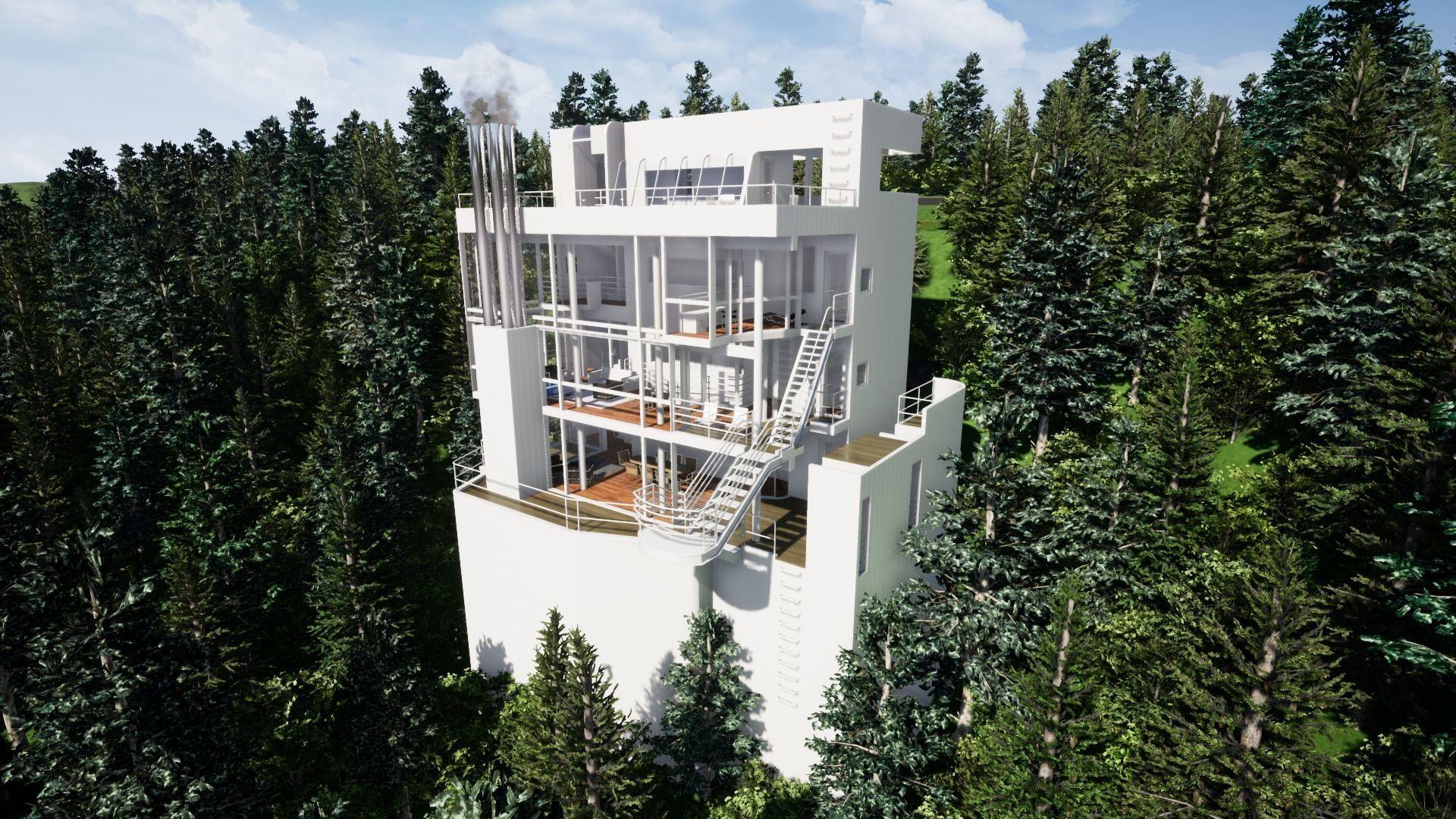 Richard Meier Douglas house an architectural masterpiece
