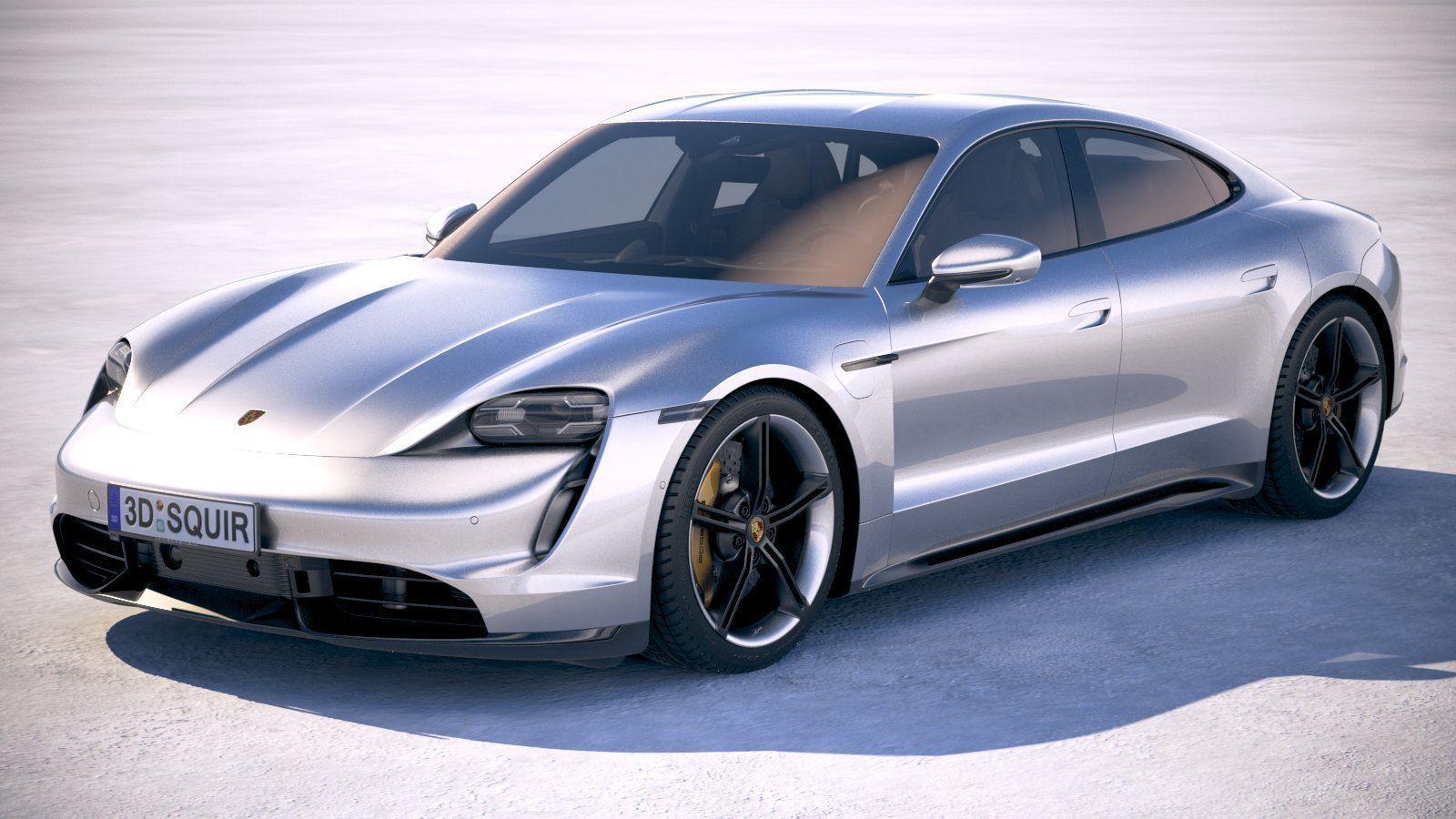 Porsche Taycan 2020 VRAY
