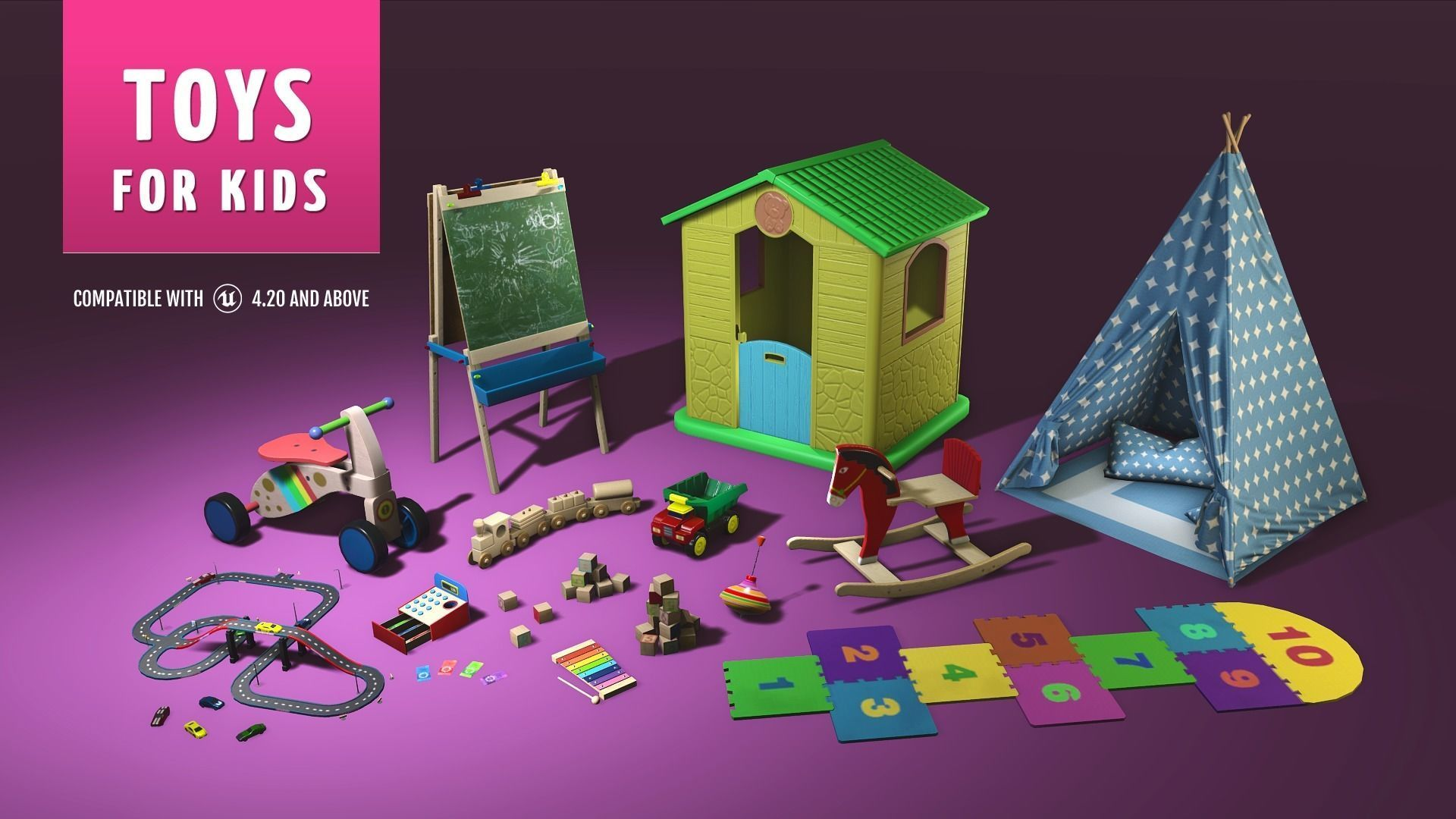 Toys for Kids Unreal Engine 4