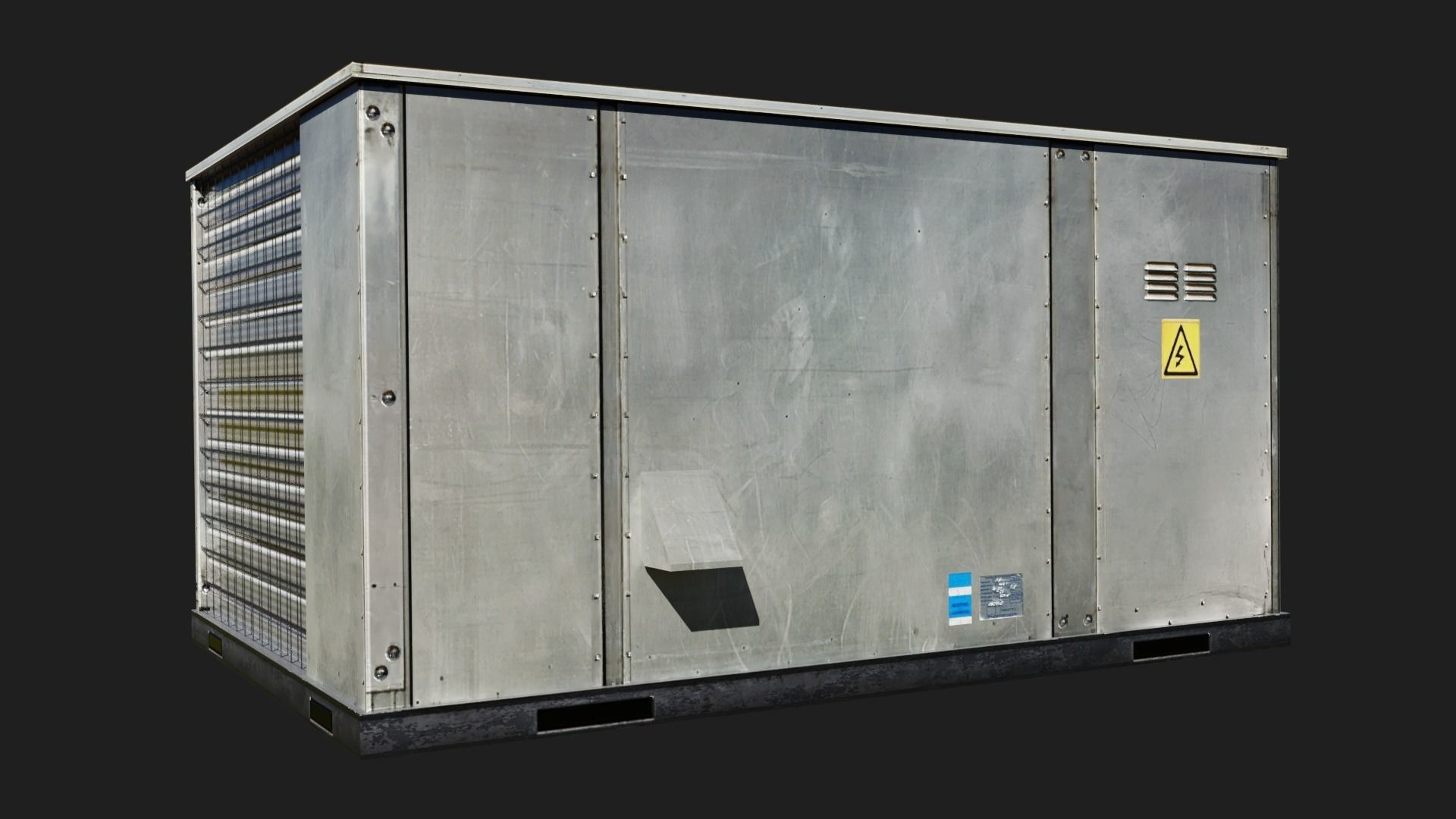 Rooftop packaged air-conditioning and heating unit 2