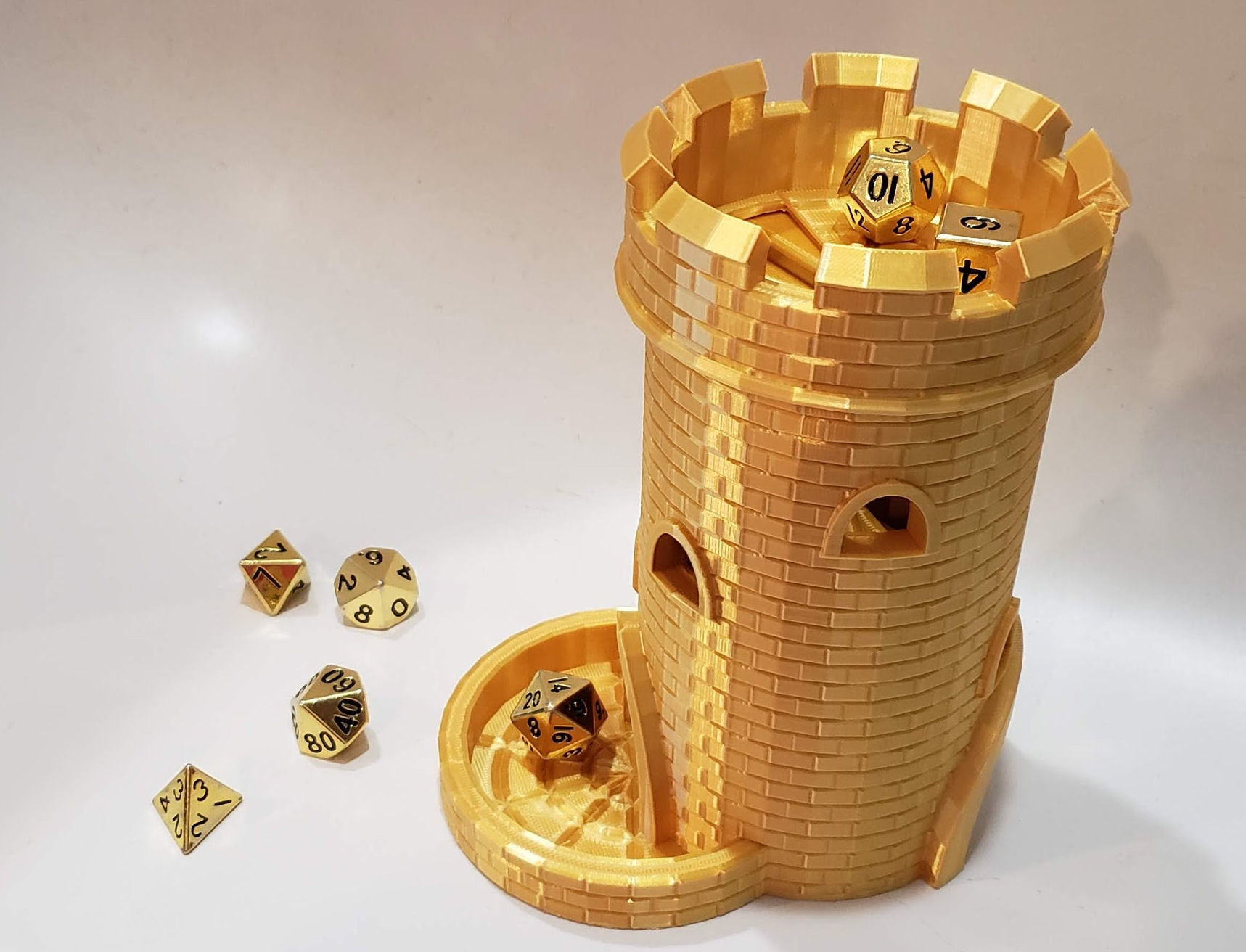 Dice Tower with Dice Jail